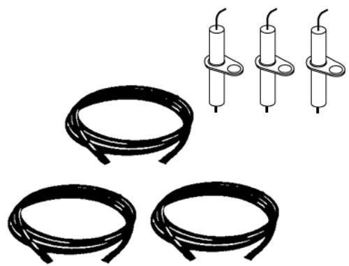 Grill Repair Kit Replacement Ignitor and Electrode, 3 Pack for Vermont Castings