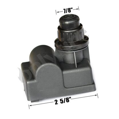 Onlyfire 03350 Electric Push Button Igniter BBQ Replacement for Select Gas Grill Models by Brinkmann, Char broil, Nexgrill, Kenmore Sears, Uniflame and Others, Black