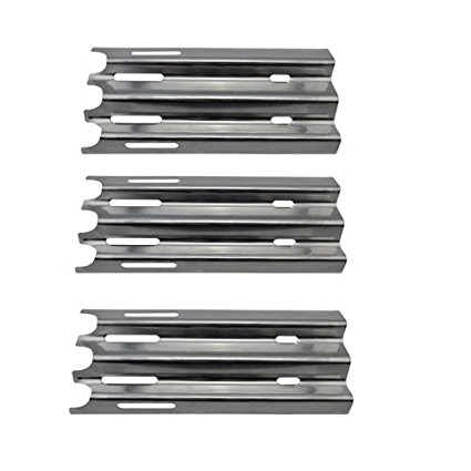 REV081 (3-pack) Stainless Steel Heat Plate, Shield Replacement Parts For Select Vermont Castings VM 400 Vermont Castings and Jenn-Air JA460