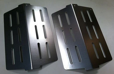 Weber # 65505 - 2PK Heat Deflector fits most 2011 Genesis and newer grills (replacing 62756 and 7622).