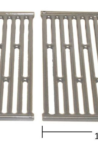 "Weber 65904 2PK Silv A Porcelain Grate. Each measures 11-1/4"" x 15"". Replaces 7523"