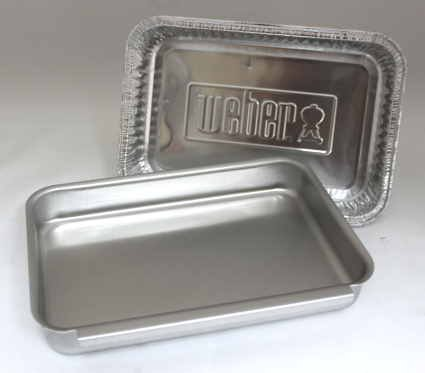 Weber #93305 Aluminum Catch Pan Kit