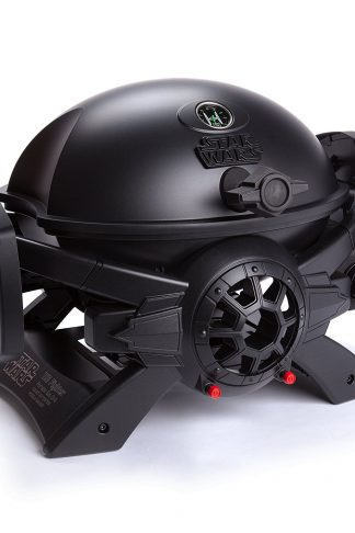 Broil Chef Star Wars TIE Fighter Gas Grill Black