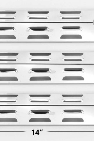 3 PACK Replacement Stainless Steel Heat Plate for BBQTEK GSF2616AC, GSF3016E, SSS3416TB, SSS3416TC, BOND GSF2616AC Gas Grill Models