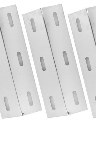 5 Pack Stainless Steel Heat Shield for Select Gas Grill Models By Ducane 30400043, 30400045, 30400046, 3040043 , 30558501, 30400047 and WEBER 30400047 Gas Grill Models