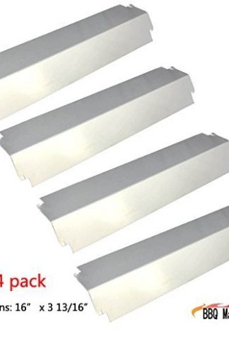 93321(4-pack) Stainless Steel Heat Plate Replacement for Charbroil, Kenmore Sears, Thermos, Lowes Model Grills and Others