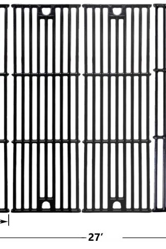 Char-Griller 2121, 2123, 2222, 2828, 3001, 3030, 3725, 4000, 5050, 5252, 3008 Porcelain Coated Cast Iron Cooking Grid , Set of 4