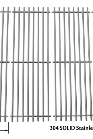 Char-Griller 2121, 2123, 2222, 2828, 3001, 3030, 3725, 4000, 5050, 5252, 3008 Stainless Cooking Grid , Set of 4