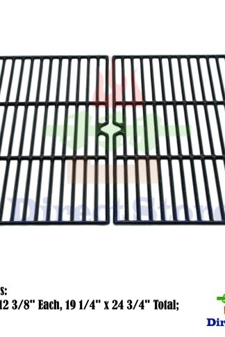 Direct store Parts DC107 Porcelain Cast Iron Cooking grid Replacement Charmglow, Jenn-Air, Weber, BBQ Grillware, Costco Kirkland, Aussie, Grill Zone, Kenmore, Nexgrill Gas Grill