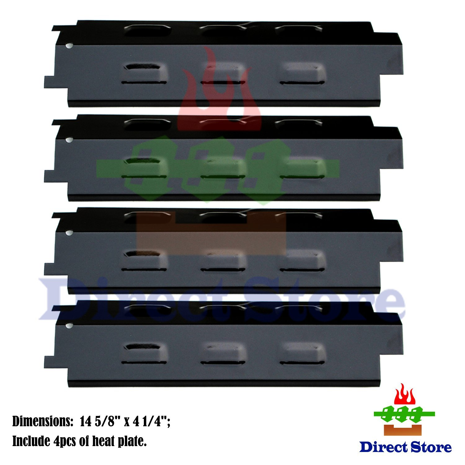 Dp131 4 Pack Porcelain Steel Heat Plates Replacement