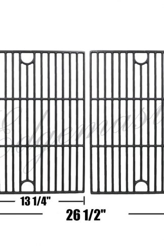 Edgemaster Cast Iron Cooking Grate Grid Replacement for Nexgrill 720-0670A, 720-0670C Uniflame GBC981 Gas Grill