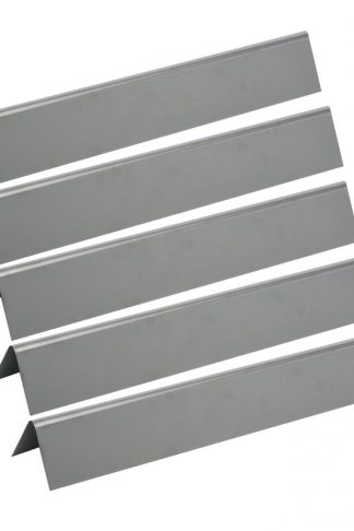 GASSAF JX636 (5-pack) Stainless Steel Flavorizer Bar Heat Plate Repalcement for Weber Spirit 300 Series Gas Grill with Front-Mounted Control Panel