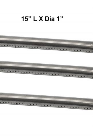 Grilling Corner Pipe Burner (3-Pack) for Kenmore 146.16132110, 146.16133110, 146.16142210, 146.16222010, Nexgrill 720-0744, Tera Gear 780-0390, Uberhaus 780-0007A