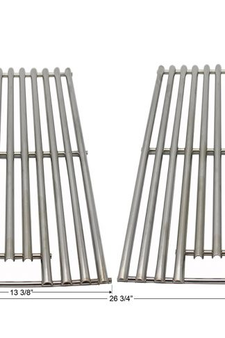 Grilling Corner Stainless Steel Cooking Grates (2-Pack) for Charbroil 463411911, 463241113, 466436515, 463411512, 463411712, 463449914, Kenmore 122.16134, 122.16134110, 415.1610621