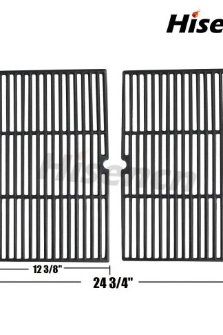Hisencn Universal Gas Grill Porcelain Coated Cast Iron Cooking Grid JGX152