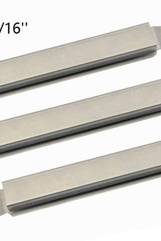 Hongso SBE592(3-pack) Stainless Steel Cross over Burner Replacement for Select Gas Grill Models by Charbroil, Kenmore and Others (6 9/16