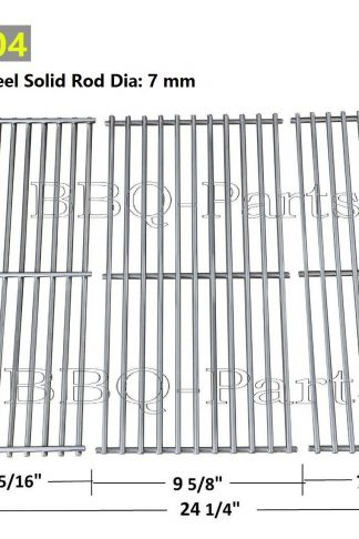 Hongso SCFS23 BBQ Stainless Steel Wire Cooking Grid Replacement for Select Gas Grill Models by Kenmore, Master Forge, Outdoor Gourmet and Others