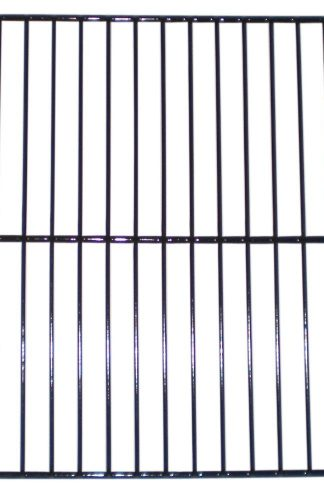 Music City Metals 52081 Porcelain Steel Wire Cooking Grid Replacement for Select Gas Grill Models by Aussie, Charbroil and Others