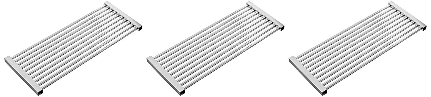 Music City Metals 56S23 Stainless Steel Tubes Cooking Grid Set Replacement for Select Gas Grill Models by Kenmore, Kmart and Others