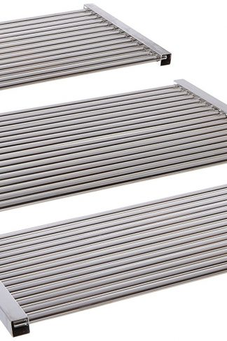 Music City Metals 5S463 Stainless Steel Tubes Cooking Grid Set Replacement for Select Gas Grill Models by Kenmore, Master Forge and Others