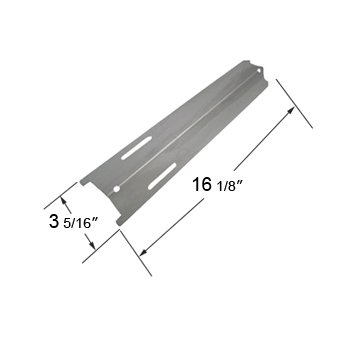 OUTDOOR GOURMET, ACADEMY SPORTS, IGLOO, JENN-AIR, KENMORE, KMART AND OUTDOOR GOURMENT GAS GRILL REPLACEMENT STAINLESS STEEL HEAT PLATE