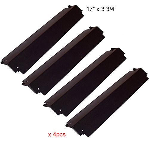 PH3941 (4-pack) Porcelain Steel Heat Plate Replacement for Select Presidents Choice and Charbroil Gas Grill Models