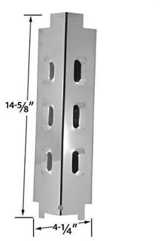 Replacement Stainless Steel Heat Plate for Kmart 640-641215405, Grill King 810-8425-S, Master Forge GD4825 & Charbroil 463441513, 463470109, 463622512 Gas Grill Models