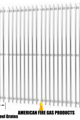 Stainless Cooking Grid for King Griller 3008, 5252 and Char-Griller 2121, 2123, 2222, 2828, 3001, 3030, 3725, 4000, 5050, 5252, 3008 Gas Grill Models, Set of 4