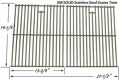 Stainless Cooking Grid for Sonoma PF30LP, Presidents Choice 09011042PC, 09011044PC, PC10011016, 419225 & Shinerich SRGG41009 Gas Grill Models, Set of 2