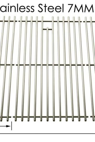 Stainless Steel Cooking Grid for Charbroil 463268207, 463268806 and Presidents Choice GSS3220JS, GSS3220JSN, PC25762, PC25774 Gas Grill Models, Set of 3
