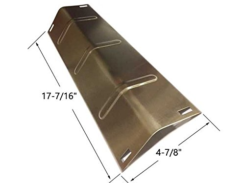 Tera Gear GPC2700JD, GPC2700JD-6, Presidents Choice 09011038, Broil Chef 06695000 & BBQTEK GPC2700JD Stainless Heat Plate