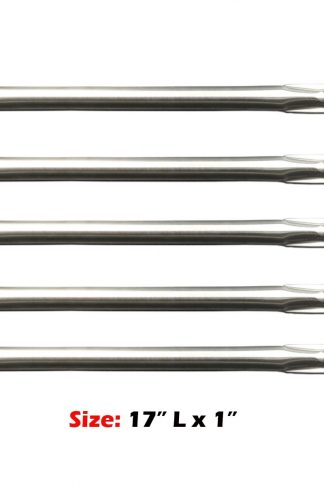 Uniflasy Replacement Parts for Weber, Home Depot, Ducane Model Grills, 5-Pack Stainless Steel Gas Grill Pipe Tube Burner