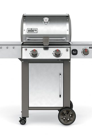 Weber 65004001 Genesis II LX S-240 Natural Gas Grill, Stainless Steel