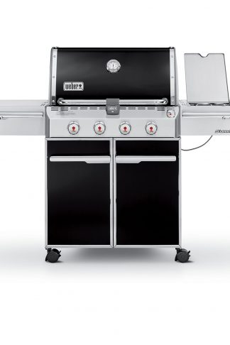 Weber Summit 7121001 E-420 650-Square-Inch Liquid-Propane Gas Grill, Black