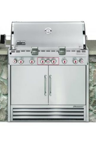 Weber Summit S-660 LP Grill (2770501) Stainless Steel