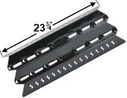 "23 3/4"" x 10 1/2"" Porcelain Coated Heat Plate for Select Fiesta Grills"