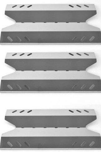 3 PACK Stainless Steel Heat Plate Replacement for Academy BQ05037-2, BBQ Pro BQ05041-28, BQ51009 and Outdoor Gourmet Gas B09SMG1-3F, BQ06W06-A, BQ06W03-1-N, BQ06W03-1 Grill Models