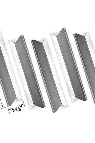 5 PACK Replacement Stainless Steel Heat Shield for Kenmore 119.16433010, Master Forge B10LG25, Perfect Flame SLG2007A, 61701 and BBQTEK GSF2818K, GSF2818KH, GSF2818KS Gas Grill Models