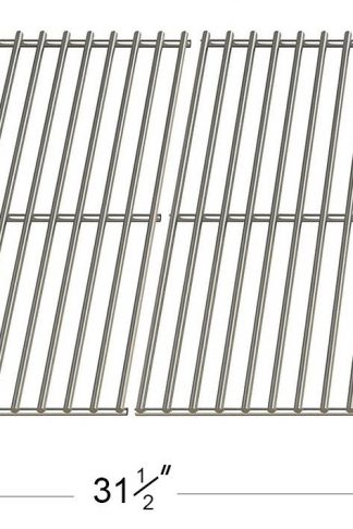 5S531 Replacement Stainless Steel Wire Cooking Grid (set of 4) for Duro, Nexgrill, Perfect Flame, Sams and Turbo Gas Grill Models