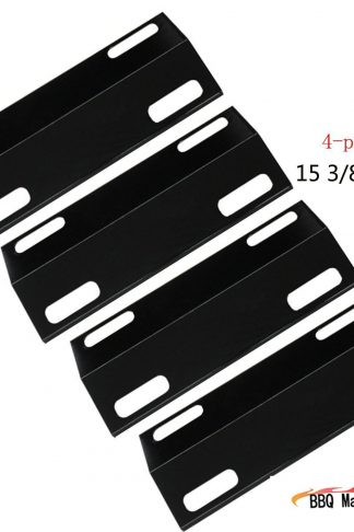 99351(4-pack) Porcelain Steel Heat Plate Replacement for Select Ducane Gas Grill Models by BBQ Mart