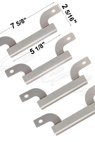 ATJ23(4-pack) Stainless Steel Crossover Tube Replacement for Select Gas Grill Models By Brinkmann and Others