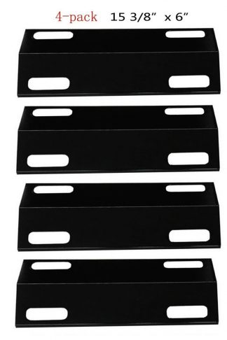 BBQ Energy PH351(4-pack) Porcelain Steel Heat Plate Replacement for Select Ducane Gas Grill Models