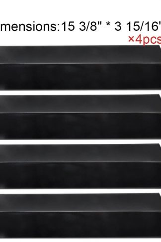 BBQ Mart PP2311 (4-pack) Porcelain Steel Heat Plate for Aussie, Brinkmann, Uniflame, Charmglow, Grill King, Lowes Model Grills