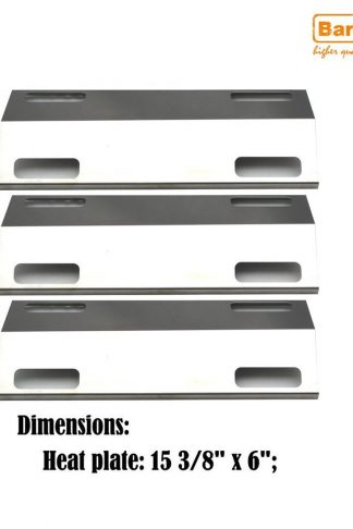 Bar.b.q.s 3Pack Gas Grill Rebuild Kit Stainless Steel Heat Plate Replacement For Ducane Affinity 3100 3400 Gas Grill Models (Grill Heat Plate)