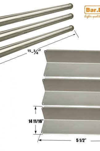 Bar.b.q.s Repalcement Gas Grill Parts Stainless Steel Burner Heat Plate For Fiesta Gas Grill (Repair Kit)