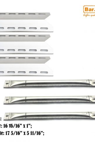 Bar.b.q.s Replacement Burners&Heat Plates For Lowes Perfect Flame Gas Barbecue Grill Model 720-0335, 7200335, 720 0335