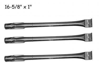 Bond GSF2818K, GSC3218WA, Uniflame GBC1069WB-C, GBC831WB, Smoke Hollow 7000CGS, Charmglow 810-2320 , 810-2320-B, GGPL-2100, SLG2006B, 2518SL-NG (3-PACK) Stainless Steel Grill Burner
