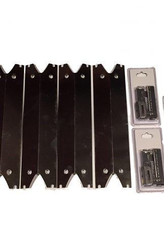 Brinkmann Set of Four Stainless Steel Heat Plates and Three Crossover channels for 810-2410-S, 810-2411-F, 810-2411-S, 810-3885-F, 810-3885-S, 810-4238-0, 810-9490-0