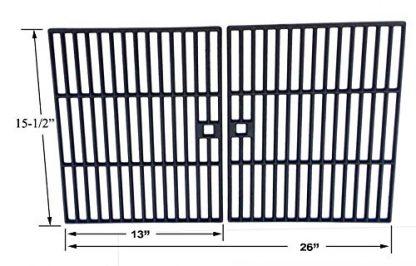 Cast Iron Grates For BOND GSF2616AC, GSF2616, 41590, GSF2616AK, 640HDCG650EP, CN650E Gas Models