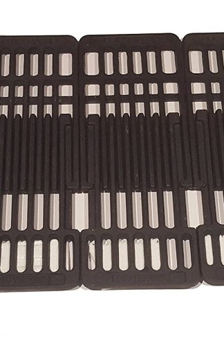 Cast iron grid set for Brinkmann, Charbroil and Bbq grill models from other manufacturers